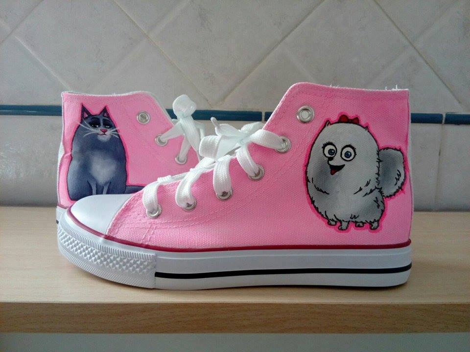 scarpe personalizzate pets vita da animali