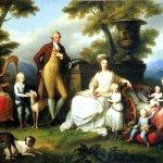 angelika kauffmann-Ritratto della famiglia di Ferdinando IV