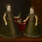 sofonisba anguissola-infante isabella clara eugenia e caterina michela