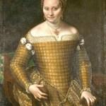sofonisba anguissola-ritratto di bianca ponzoni anguissola, madre dell'artista