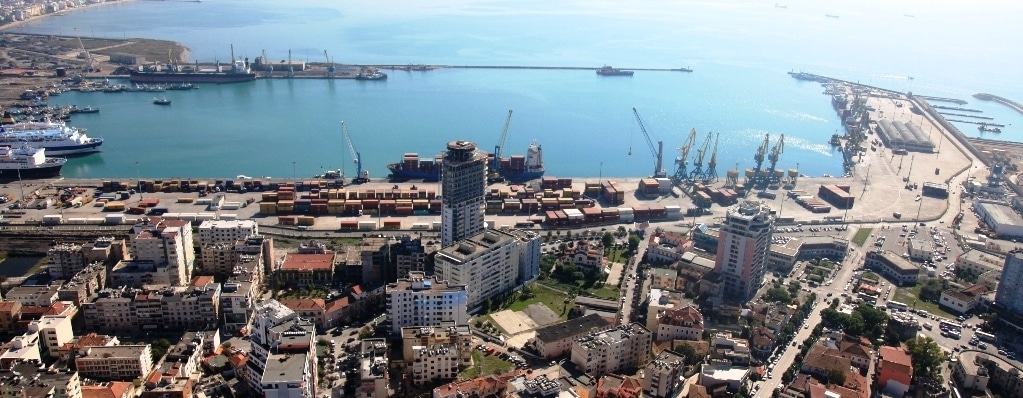 Durrës Port Handles Import Of Rotary Wheels To Kosovo