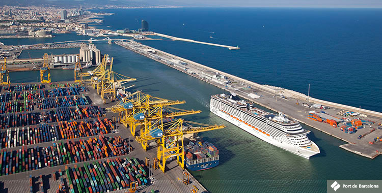 Barcelona Port Operates First Call Of HDASCO Ship As Part Of Mediterranean Service
