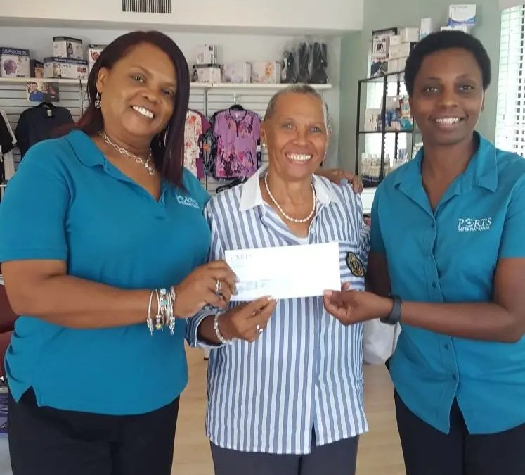 Ports Donates to Sister Sister Breast Cancer Support Group
