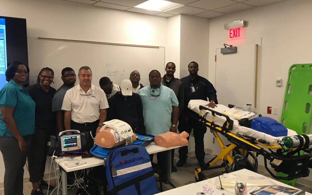 AutoPulse Advanced CPR on the Move at BahaMar
