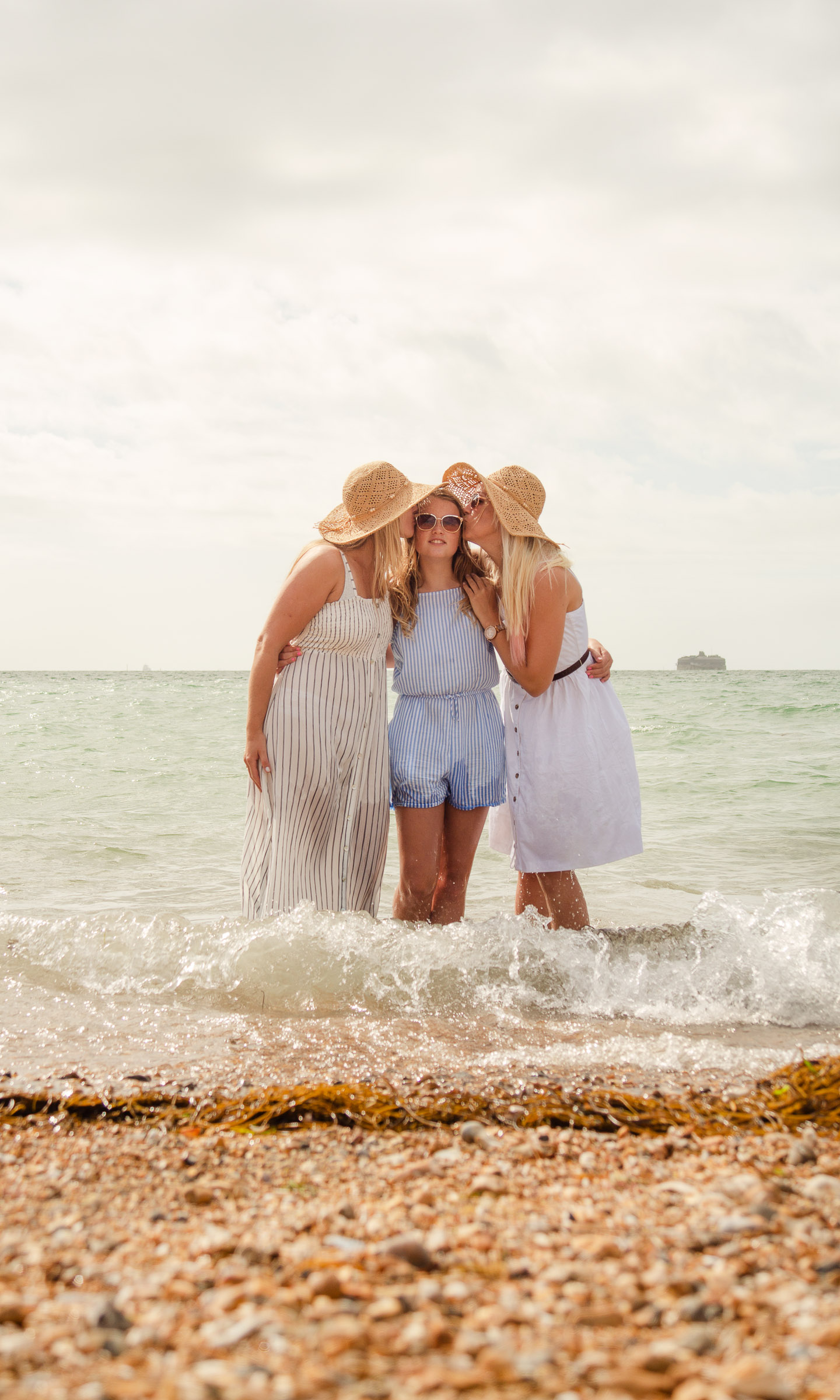 Summer vibes fun photo session Southsea seafront Portsmouth