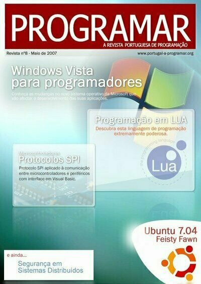 Revista PROGRAMAR - Capa