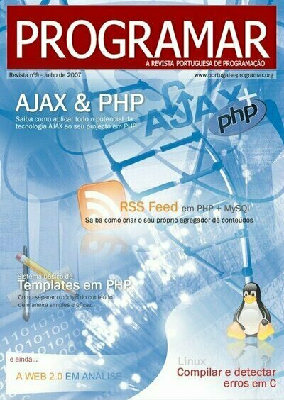 Capa edição 9 Revista PROGRAMAR
