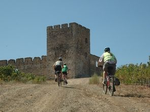 biking in portugall