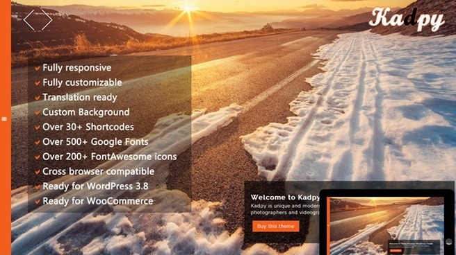 Wordpress Theme Kadpy