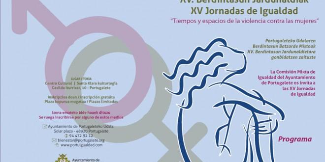 XV Jornadas de Igualdad. Tiempos y espacios de la violencia contra las mujeres