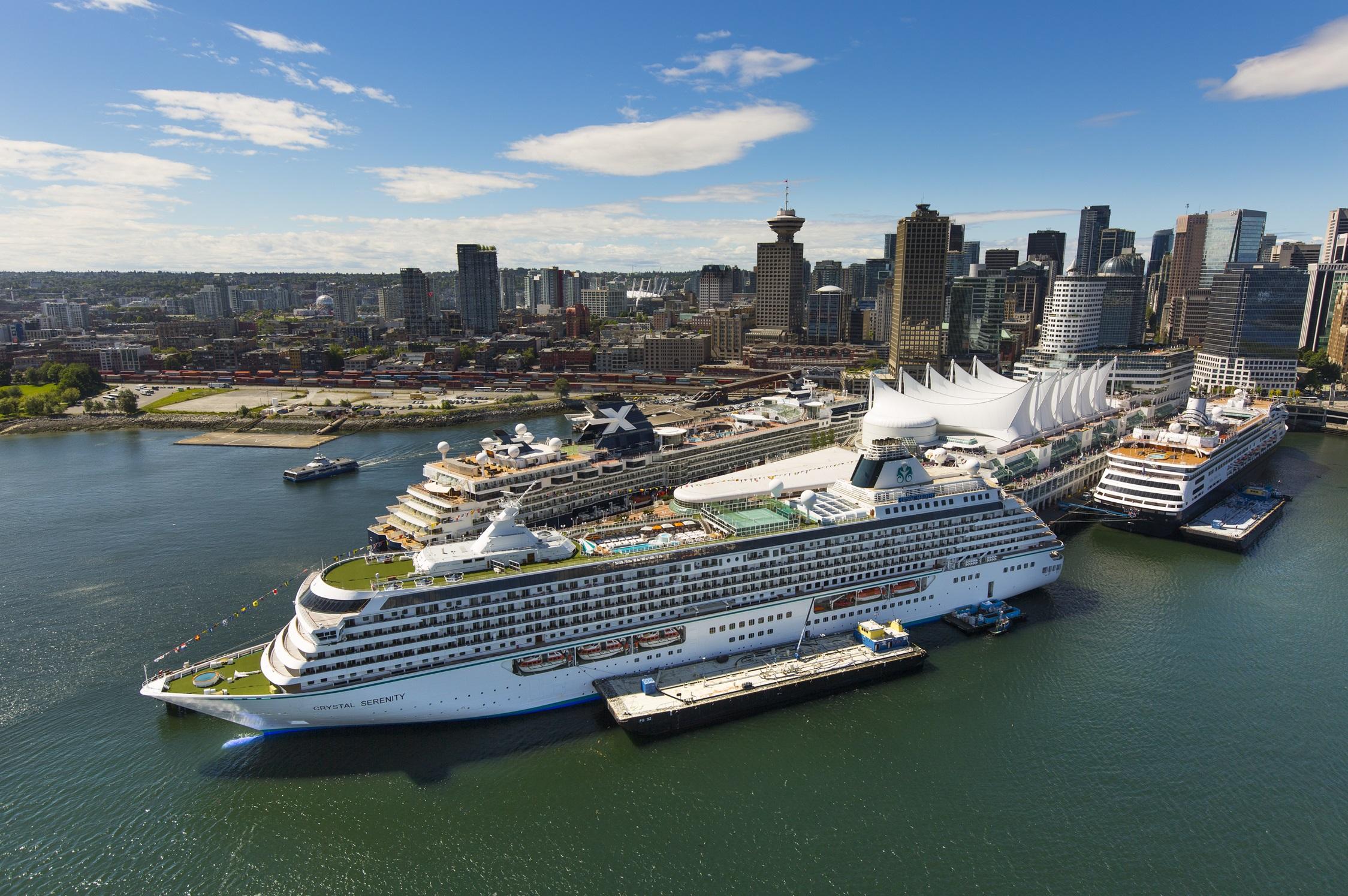 Port Ship Cruise Vancouver