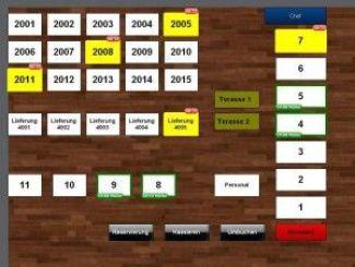 Kassensystem Gastronomie Tischreservierung