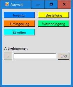 Mobile Datenerfassung für Maxstore Kassensoftware