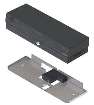 Kassenschublade mit Einsatz und Halterung