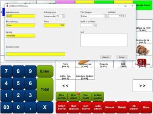 Kasse, Kassensoftware, Kassensysteme, Artikel Neu