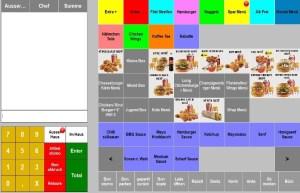 Fast Food  kasse, kassen, kassensoftware, kassensystem, kassensysteme