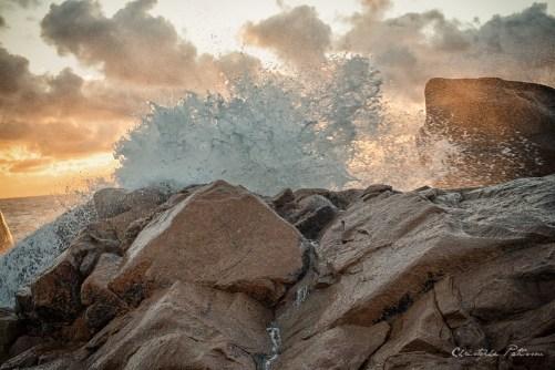 Matosinhos - rochers - vagues