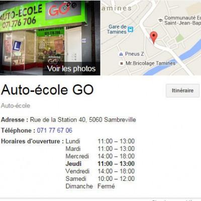 Auto Ecole GO jumet