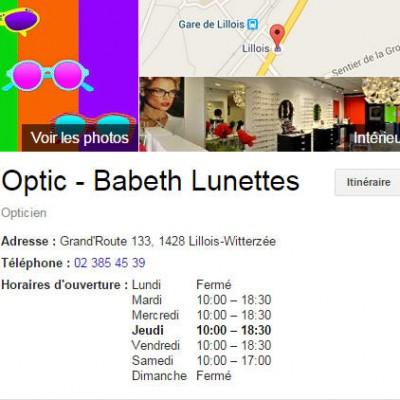 Babeth Lunettes