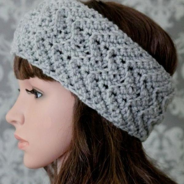 Knit Turban Headband Free Pattern
