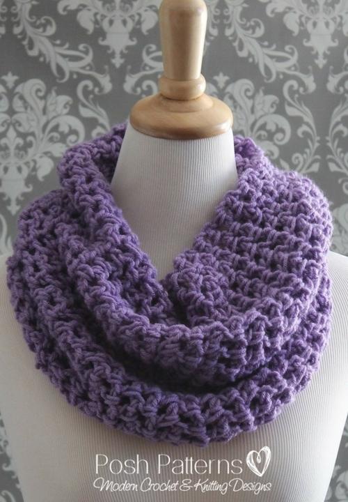 Lacy Cowl Free Crochet Pattern