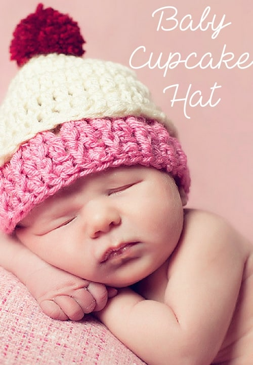 3336a1ca0d5ac Baby Cupcake Hat Free Crochet Pattern