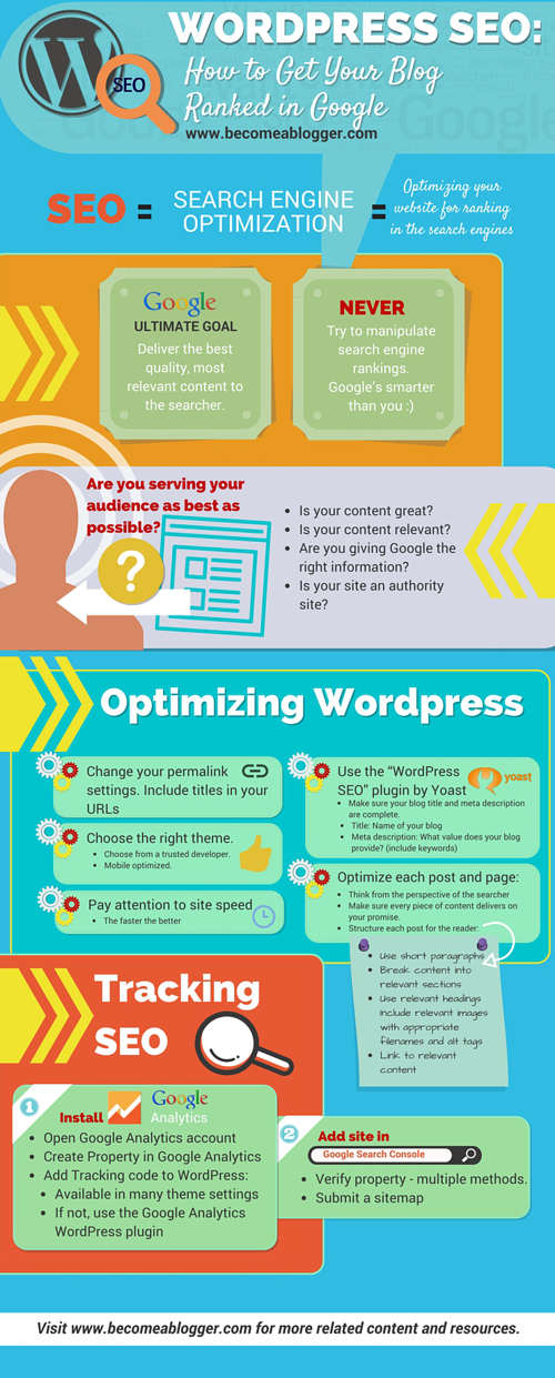 wordpress seo infografia