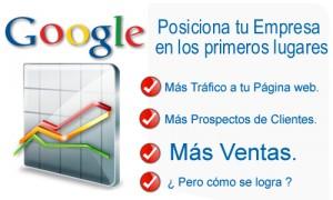 posicionamiento web a través de Google Adwords, posicionamiento en buscadores, posicionamiento de pago por click, posicionamiento web profesional