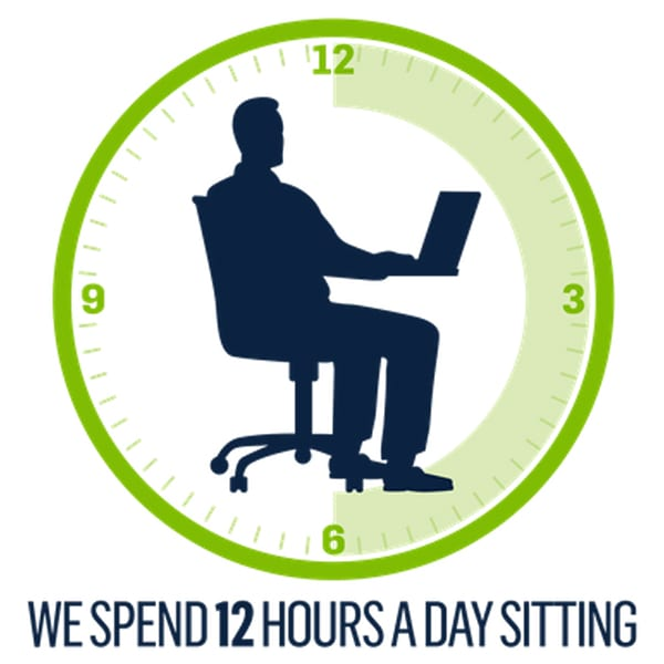 posidesk 12 hours a day sitting