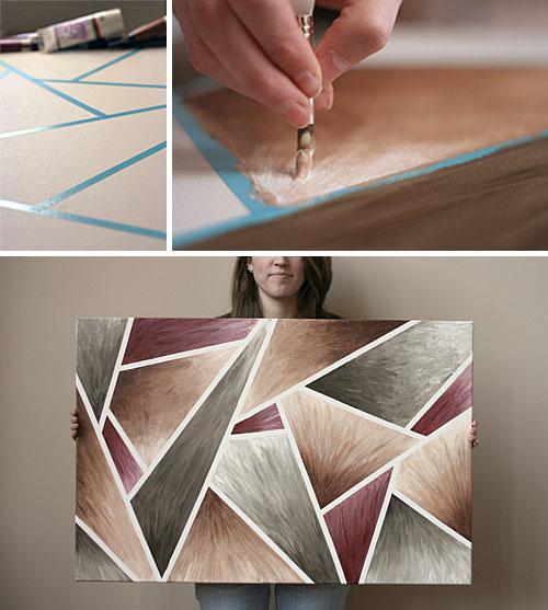 Canvas diy steps