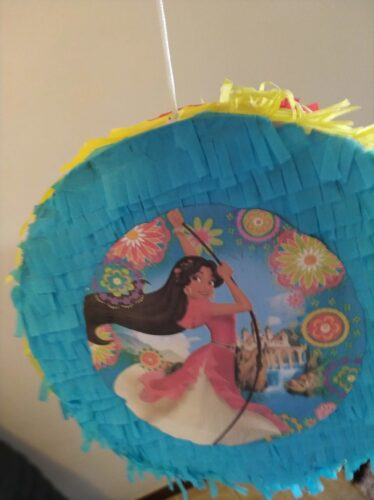 Elena of Avalor DIY pinata 3