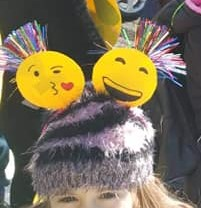 DIY easy Emoji headbands
