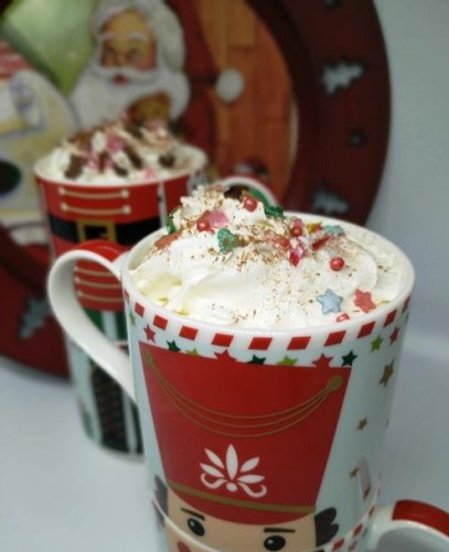 christmas eve coffee gingerbread spice