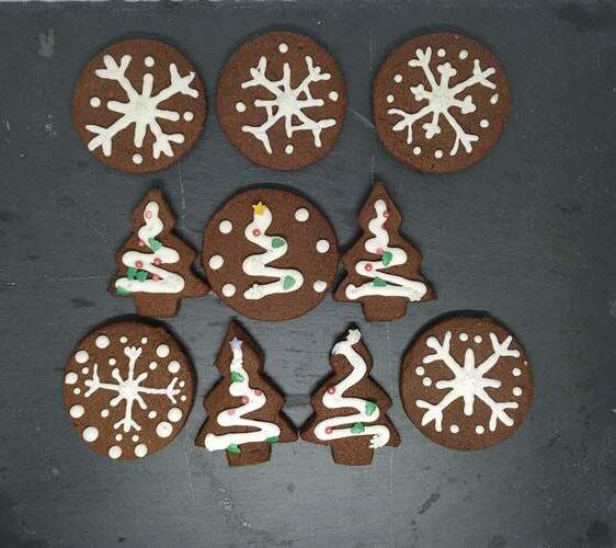 delicious chocolate sugar cookies