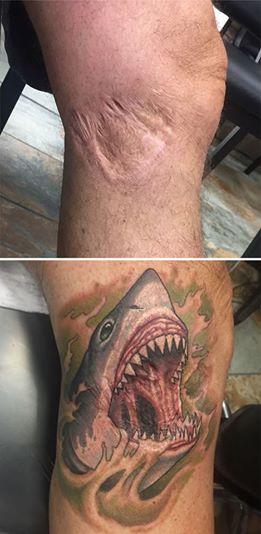 17 Tattoos Die Narben Zu Etwas Außergewöhnlichem Machen