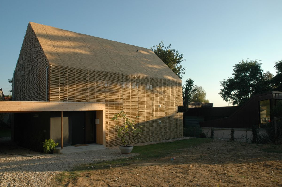 Karawitz architecture passive house bessancourt france positive magazine - Maison passive design ...