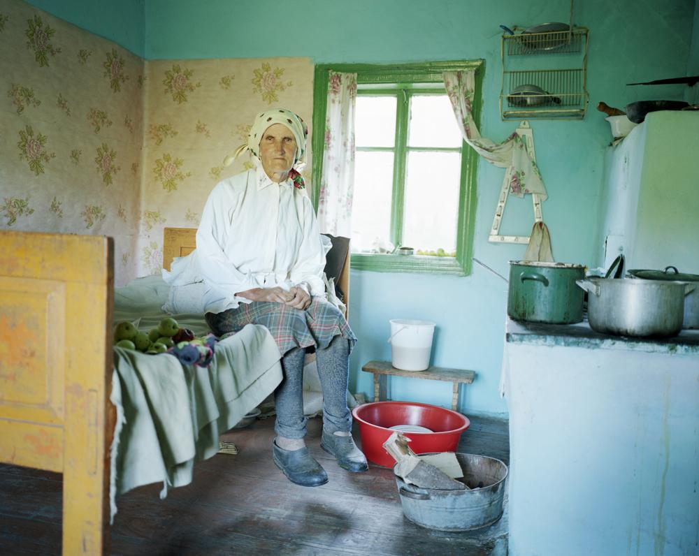 Boikos village in Ukraine
