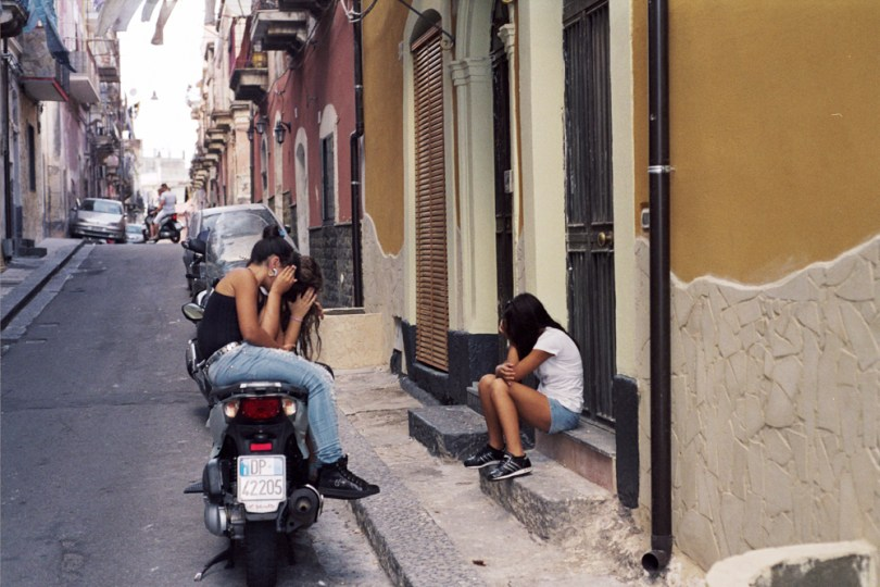 These photos were all taken in the same suburb area of Catania,