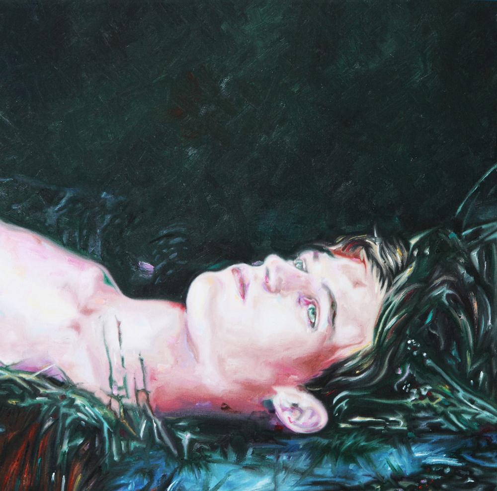 Daydream, oil on canvas, 50x50 cm, 2012