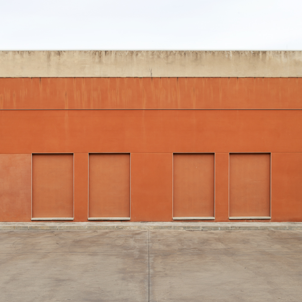 Four blind doors