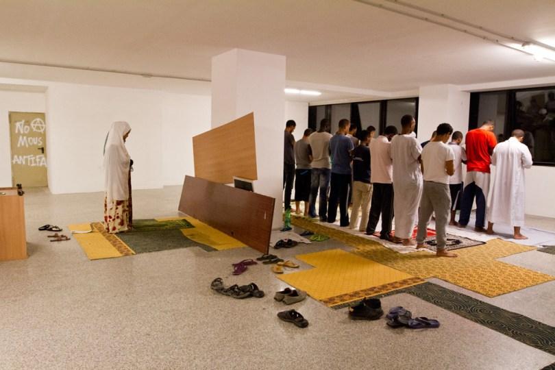 14. Ramadan in the ex storehouse of the Hotel