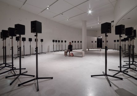 Janet Cardiff & George Bures Miller, Something Strange This Way, installation view, photo by Anders Sune Berg