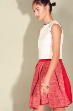 Top: Sara Bonotto Skirt: Project 149 Jewels: Flaminia Barosini