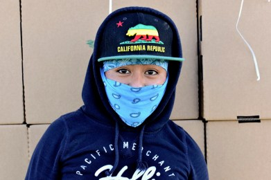 Mixteca field worker at Oxnard CA