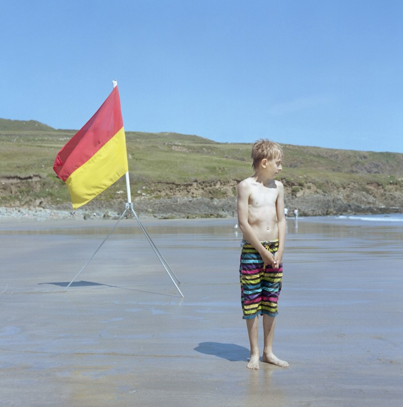 Andrei stands on the beach at Whitesands Bay in Pembrokeshire, West Wales, U.K. The children will spend up to a month with host families around the Pembrokeshire area of the U.K. An astonishing 85 per cent of Belarusian children are deemed to be Chernobyl victims: they carry Ògenetic markersÓ that could affect their health at any time and can be passed on to the next generation. A vicious cycle that unfortunately could continue for hundreds if not thousands of years. From the series 'The Healing Land'