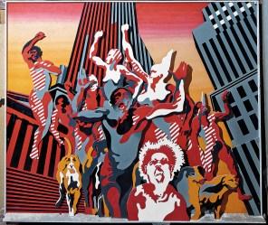 Heni Cueco, Les hommes Rouges, 1968, ADAGP 2014