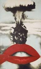Joan Rabascall, Atomic Kiss, 1968, MACBA collection, barcelona city council fund