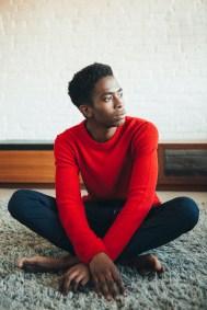 Sweater H&M, Pants Topshop