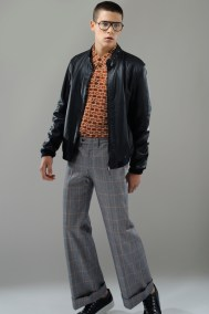 Jacket Havana&Co., shirt and trousers vintage A.N.G.E.L.O., glasses Web, sneakers Rocco P.