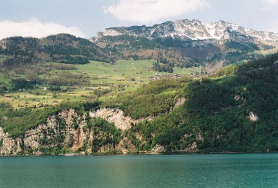 Amden, in the lakeside of Walensee